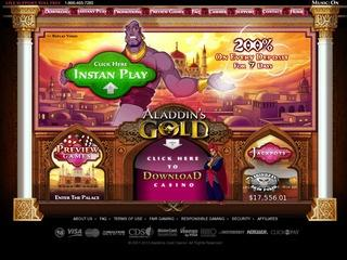 Alladdin's Gold Casino